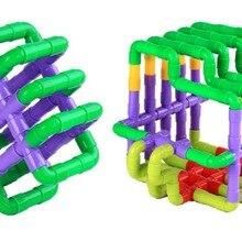Мрамор работает строительные блоки один набор интеллектуальная игра для детей играть