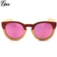 c25b10f0c G M Oval Bamboo Sunglasses Wooden Sunglasses Wood Sunglasses Men Bambu  Sunglasses Polarized Outdoor Women Sun. G M Oval Óculos De Sol Bambu Madeira  ...