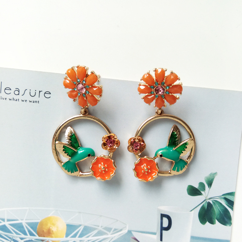 Jewelry & Accessories Sea Red Fish Starfish Shell Long Clip Earrings Japan China Fortune Luck Fancy Carp Koi Fish Clip On Earrings Without Piercing Earrings