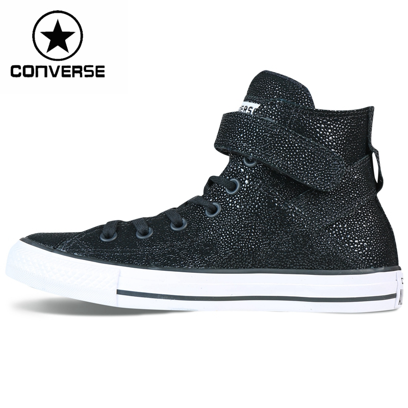Original Converse all star brea stingray metallic Women's Skateboarding Shoes Canvas Sneakers цена и фото