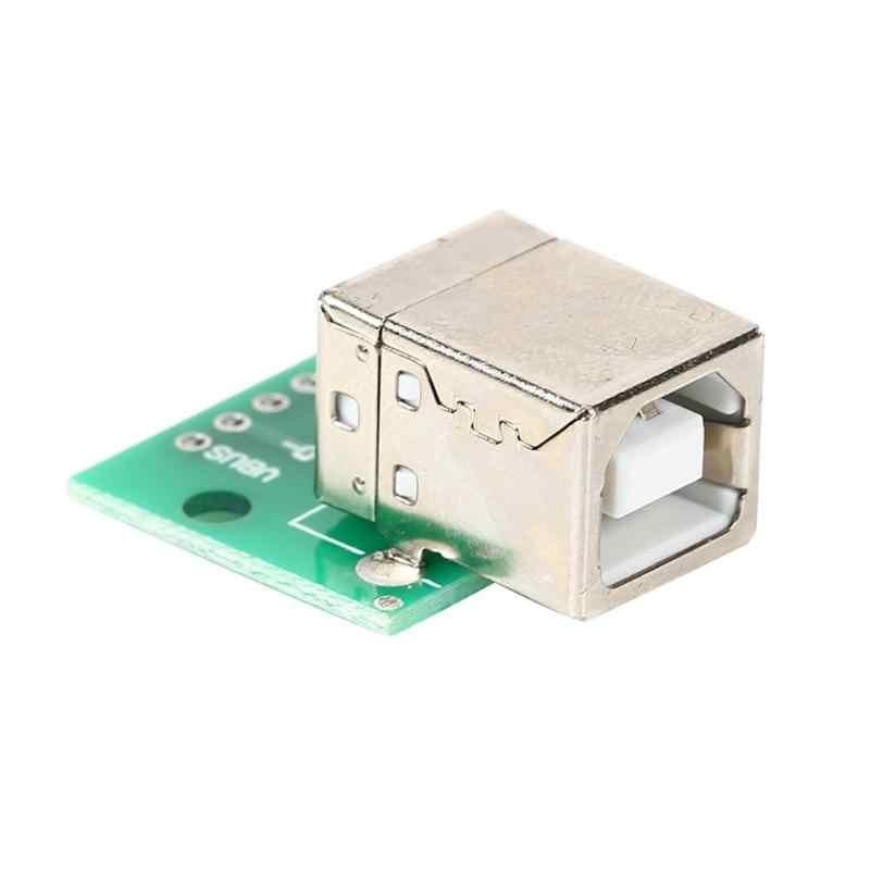 USB-05 USB untuk DIP Adapter Plate Wanita Kepala Soket B Jenis Kabel Printer