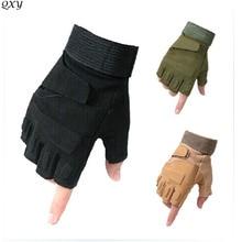 Blackhawks США спецназ военные тактические перчатки скользящие спортивные перчатки с половинным пальцем фитнес-бой