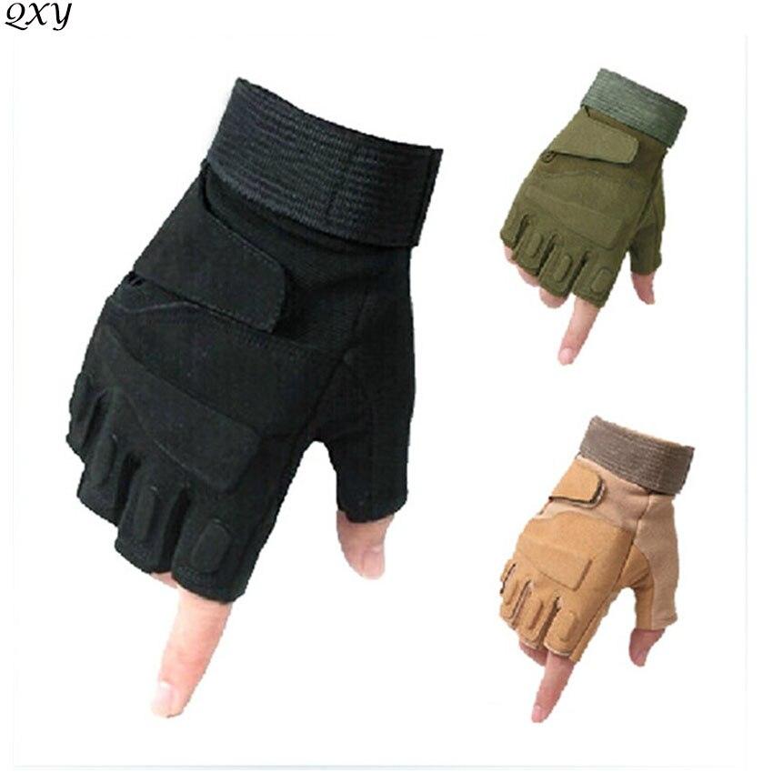 Blackhawks americké speciální síly vojenské taktické rukavice skluzu sportovní poloprsté rukavice fitness boj