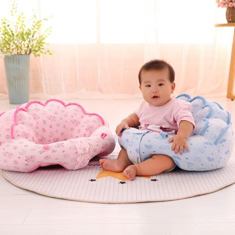 где купить 50cm Baby Seat Plush Toy Infant Back Support Learning Sit Safety Comfortable Plush Baby Sofa Feeding Chair Seat Plush Gift по лучшей цене