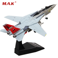 1 100 Scale Grumman F 14 Tomcat Model Alloy Diecast U S Navy Carrier Based Aircraft