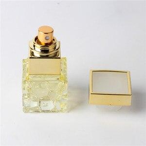 Image 4 - ファッション 10 ミリリットルカラフルポータブルガラス香水瓶アトマイザー空のためのスプレーでパルファムケース旅行