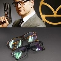 New Movie Kingsman The Golden Circle Secret Service Cosplay Eyewear Glasses Eyeglasses Sunglasses Customized Prop Gift