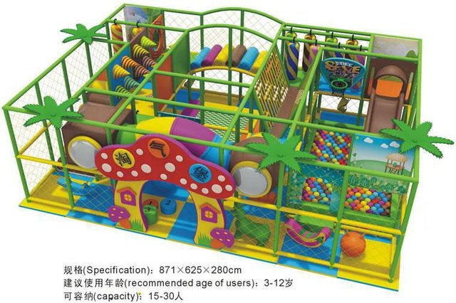 CE certified Kids Indoor playground, Naughty Castle/ indoor ...
