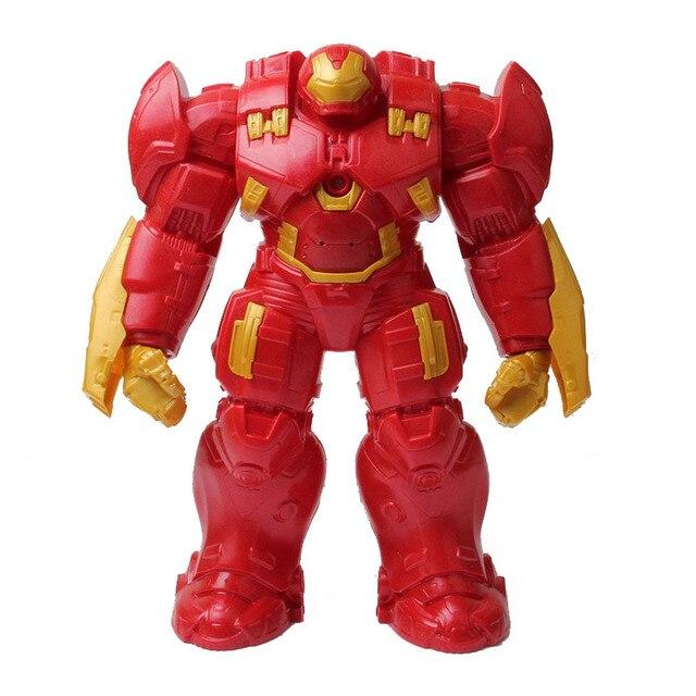 The Avengers Interactive Hulk Buster Iron Man Figurine 30cm 2016 New