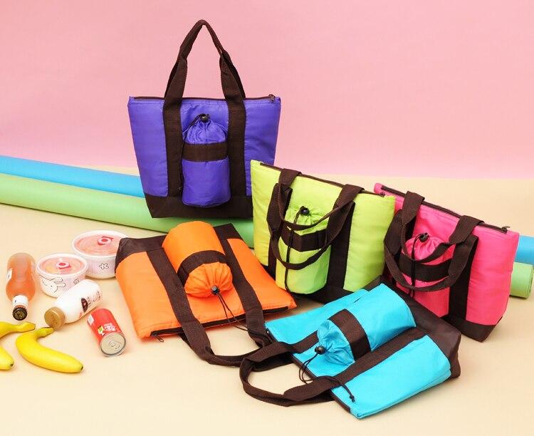 Nytex Große Tragbare Wärme Tasche Multifunktionale Mittagessen Taschen Lunch Bag Verdickung Thermische Taschen Nehmen Sie Lebensmittel Gepäck & Taschen Funktionale Taschen