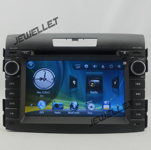 Car GPS radio navigation DVD for Honda CRV 2012 2016 with Bluetooth, Ipod 1080P