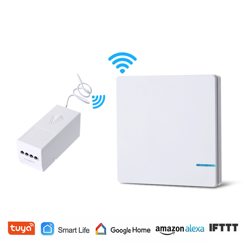 WiFi Wireless Light Switch Remote Control Tuya Smart Life RF Wall Switch Waterproof Alexa Echo Google Home Voice Control in Switches from Lights Lighting