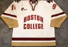 32acf241d Boston College  18 Ryan Shannon Hockey Jersey Embroidery Stitched Customize  any number and name Jersey
