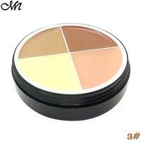 Contour Palette Concealer Cream Foundation 4 Colors