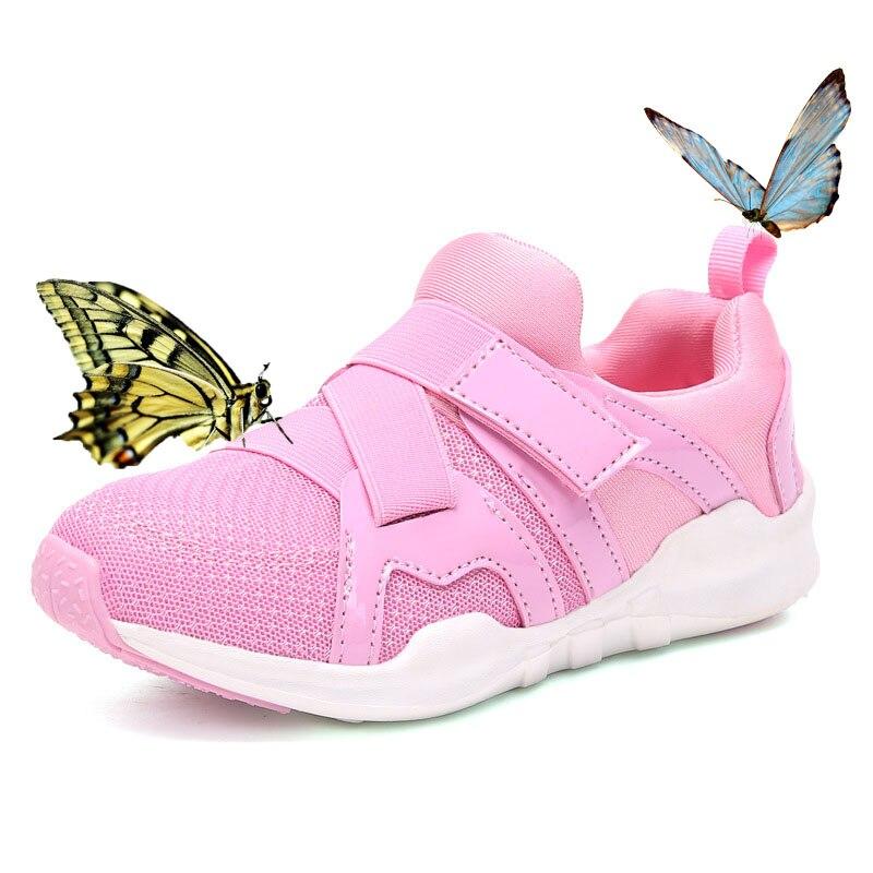 Детские сапоги обувь для детей дышащая Спортивная обувь сетка воздуха дышащие кроссовки для девочек мальчиков кроссовки черный, розовый ...