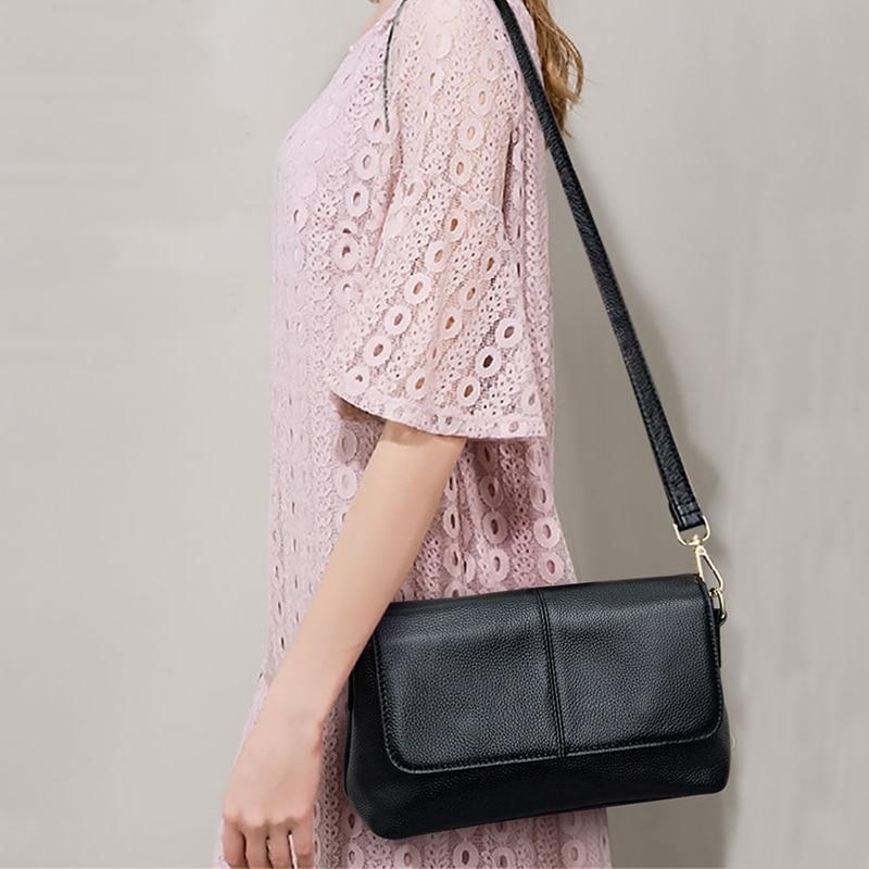 Sac à bandoulière en cuir véritable femmes sacs à main de luxe sacs à bandoulière de mode pour femmes sac Messenger sac à main femme fourre-tout sac à main