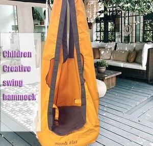 Image 1 - 새로운 arrivel 야외 어린이 해먹 정원 가구 스윙 의자 실내 교수형 좌석 어린이 스윙 좌석 파티오 휴대용