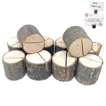 Adeeing 10 шт деревянный цилиндр формы фото держатели для свадебного украшения