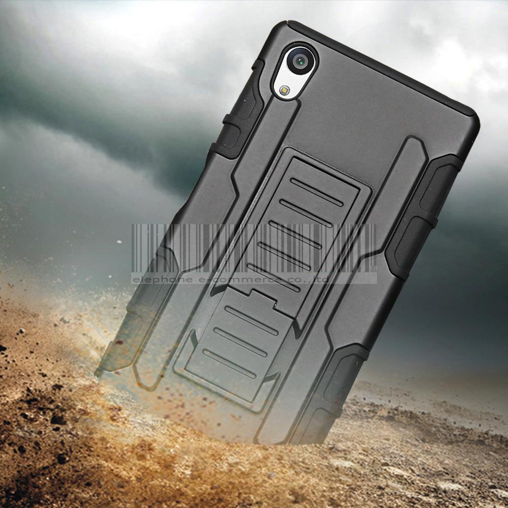 Phone Case For Sony Xperia Z1 Compact Mini /E4g/Z5 /M4 Aqua/C4/C5 Ultra Rugged Holster Armor Hard Case Cover With Belt Clip