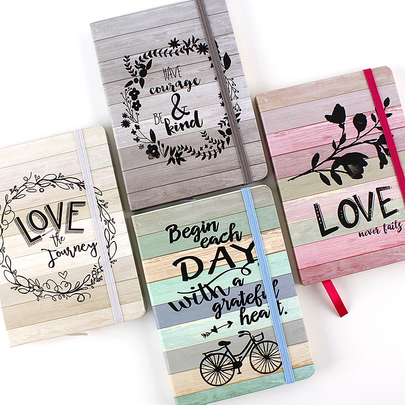 Hard Cover Notebook Lover Letter Creative Valentine's Day Line Journal Bujo Notebooks Writing Pads