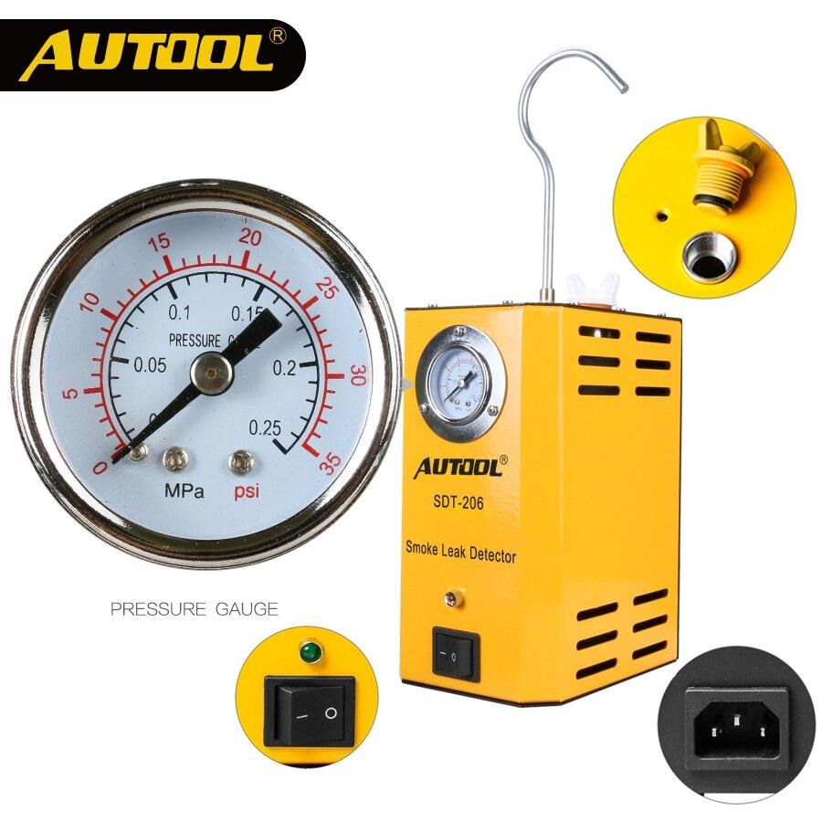 все цены на AUTOOL SDT-202 Car Smoke Machines For Cars Leak Locator Automotive Diagnostic Leak Detector SDT202 Discoverer онлайн