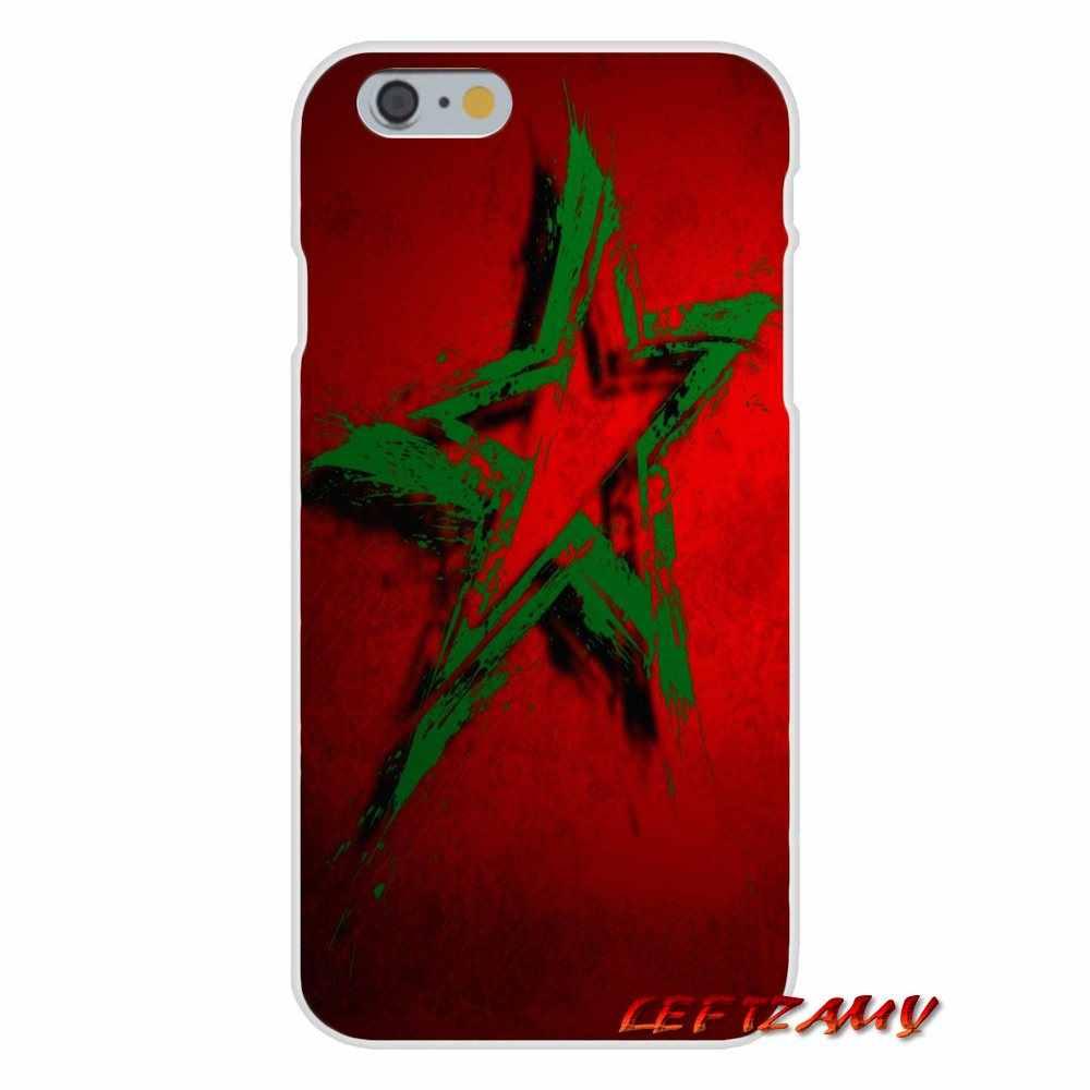 Morocco Moroccan для iPhone X XR XS MAX 4 4s 5 5S 5C SE 6 6 S 7 8 Plus Аксессуары чехлы для телефонов