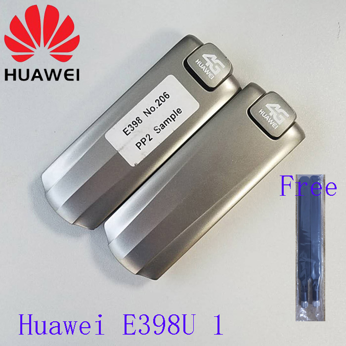 Hot Sale Huawei E398u 1 LTE 100M USB Modem plus 2pcs antenna