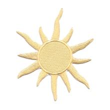 10 قطعة جديد وصول السماوية نجمة الشمس المطرزة التصحيح الذهب أو الملابس سترة التطريز لوازم الخياطة