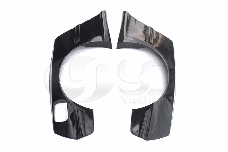 1992-1999 BMW E36 3 Series & M3 Coupe GReddy Pandem Style Rear Over Fender Flares FRP (3)