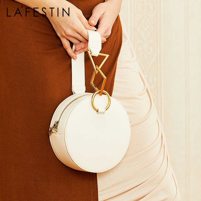 La Festin women bags 2019 new high end French small bag texture portable handbags fashion slung