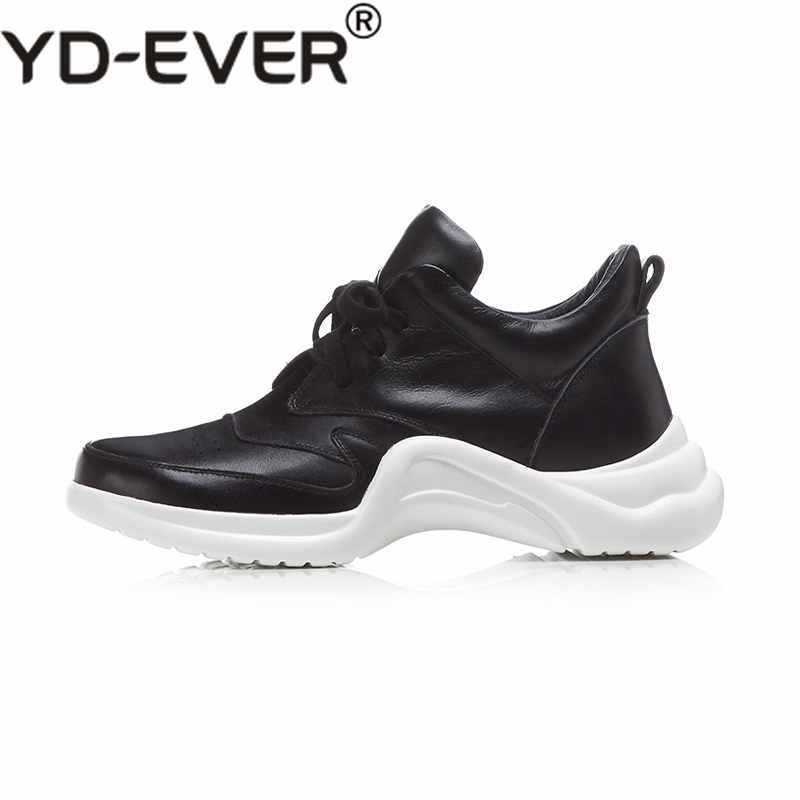Respirant Up Noir Yd Oxford ever Plate forme Superstar Bout blanc En Véritable Blanc Cuir Creux Sneakers Chaussures Vulcanisé Rond Lace 4LSqAc3R5j