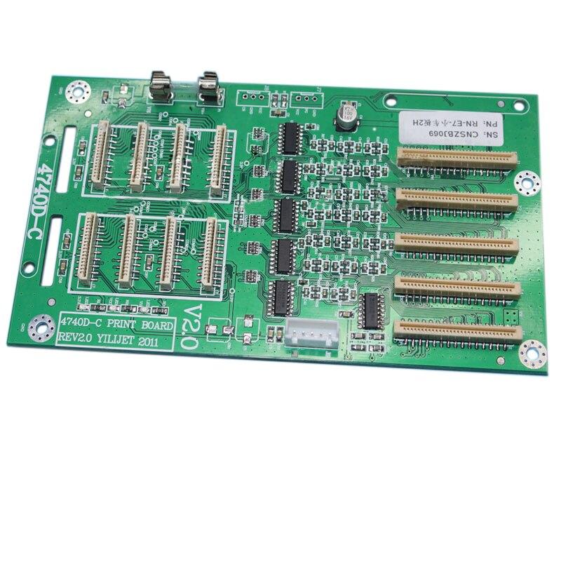 Xenons X2A-6407ADE Eco-solvent Printer 4740D-C (X841) 2 dx7 Printhead Board