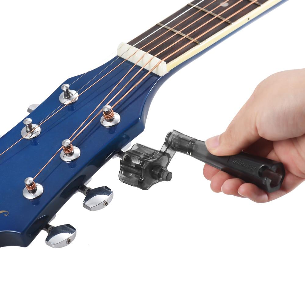 multifunctional string peg winder bridge pin puller for electric bass guitar repair maintenance. Black Bedroom Furniture Sets. Home Design Ideas