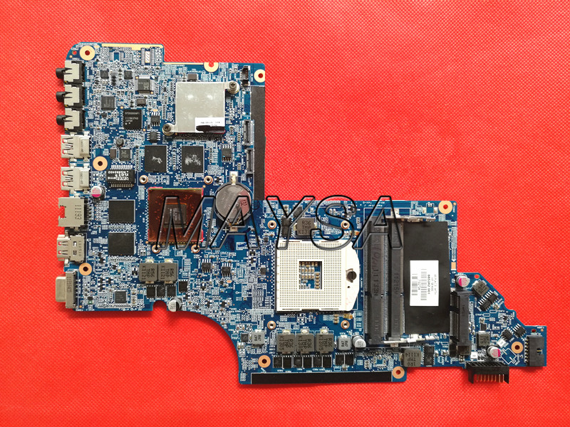 Free shippingl 665342-001 Fit for hp Pavilion DV6 DV6-6000 laptop motherboard HM65 HD6770/2G 100% tested