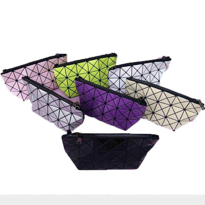 Women Bag Fold Over Handbags Geometric Plaid Casual Clutch makeup Bags Messenger Bag Patchwork Shoulder Bags Bao Bao 45