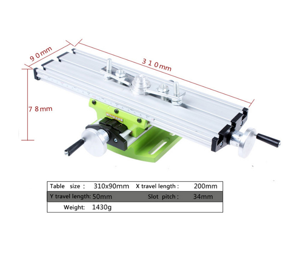 multifunction mini table bench vise bench drill milling machine stent 6300 aluminum alloy precision 0.05mm universal aluminum alloy table flat bench vise drill press vise small vise for woodworking diy tool milling machine