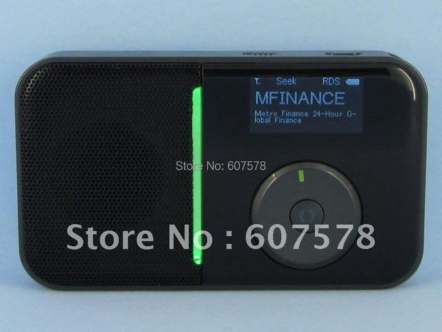 Free Shipping Mini Pocket Digital FM RDS Wireless WiFi Internet Radio