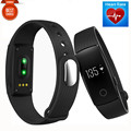 2017 New ID107 Bluetooth 4.0 Smart Bracelet Smart Band Heart Rate Monitor Wristband Fitness Tracker for Android IOS Smartphone