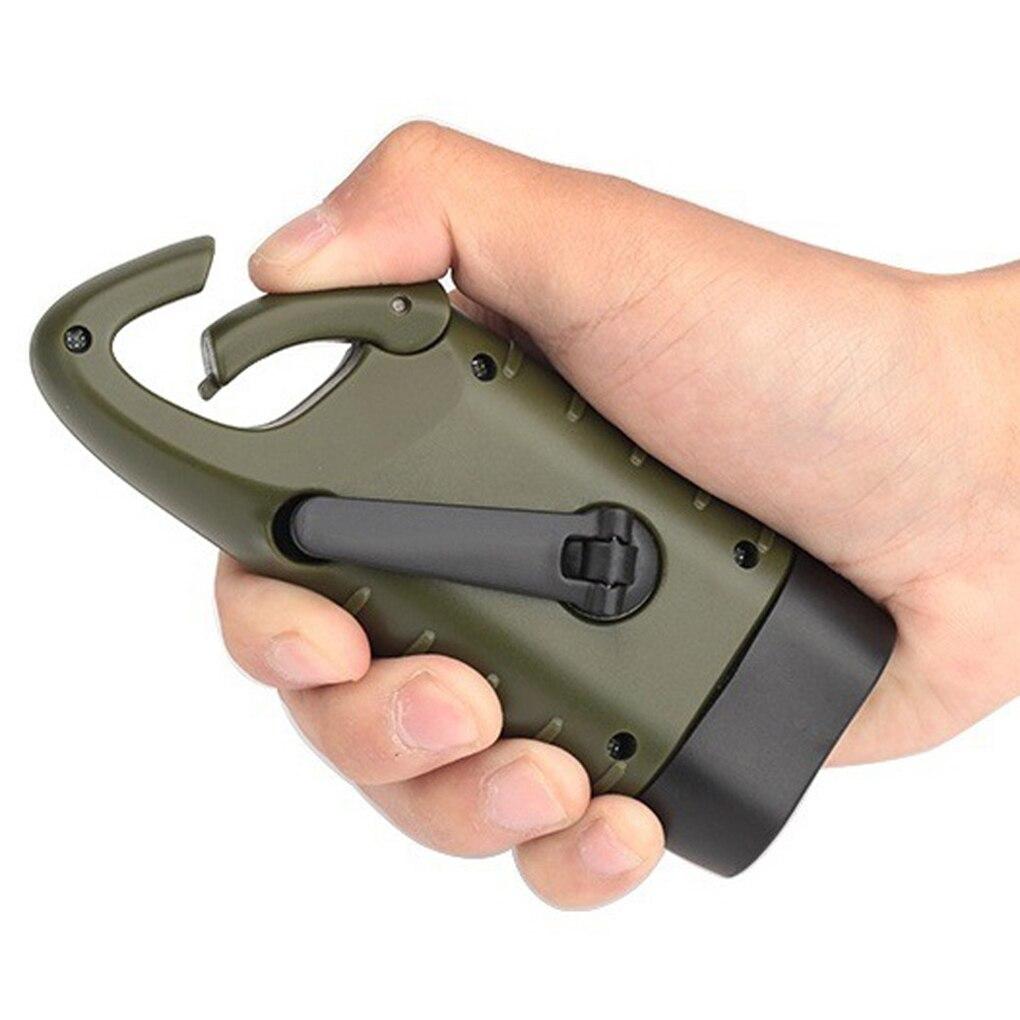 Outdoor Camping Mini Emergency Hand Crank Solar Flashlight ...