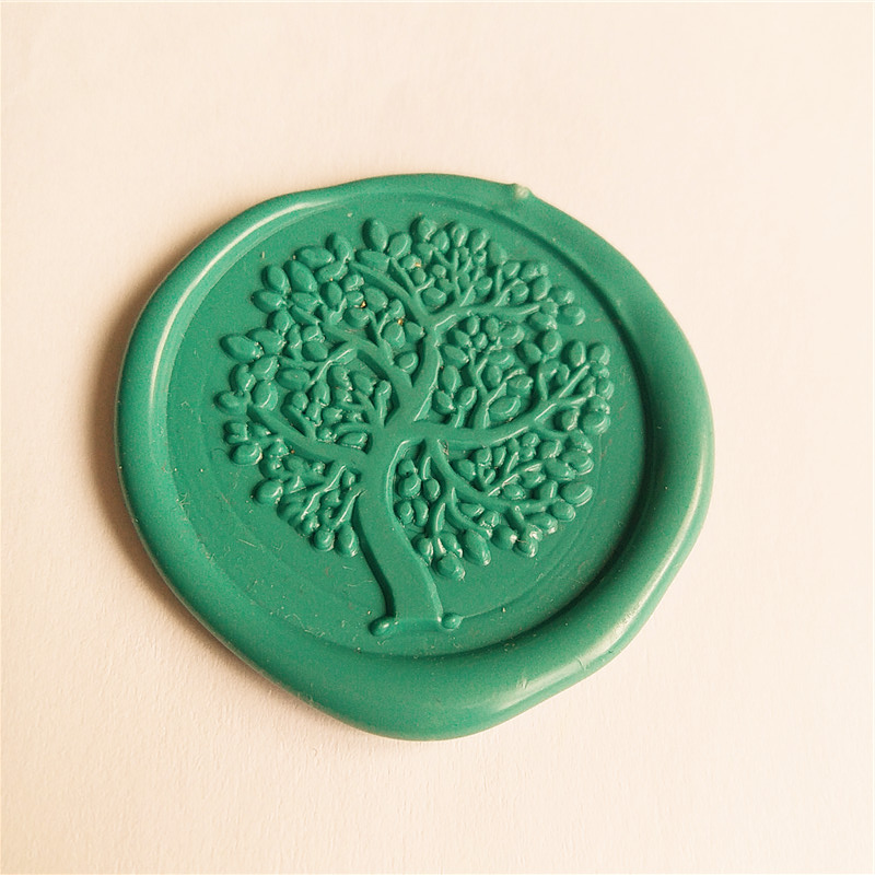 Tree of life Gold Plated Wax Seal Stamp Gold Plated Wax Seal Stamp Custom Wedding Invitation stamp Decorative pattern Wax Stamp 1x wax seal stamp retro wood classic sealing wax seal stamp decorative rose tree of life wedding invitation antique stamp