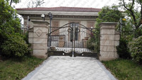 Top Villa Forged Made Wrought Iron Gates Wrought Iron Gate V Ig2