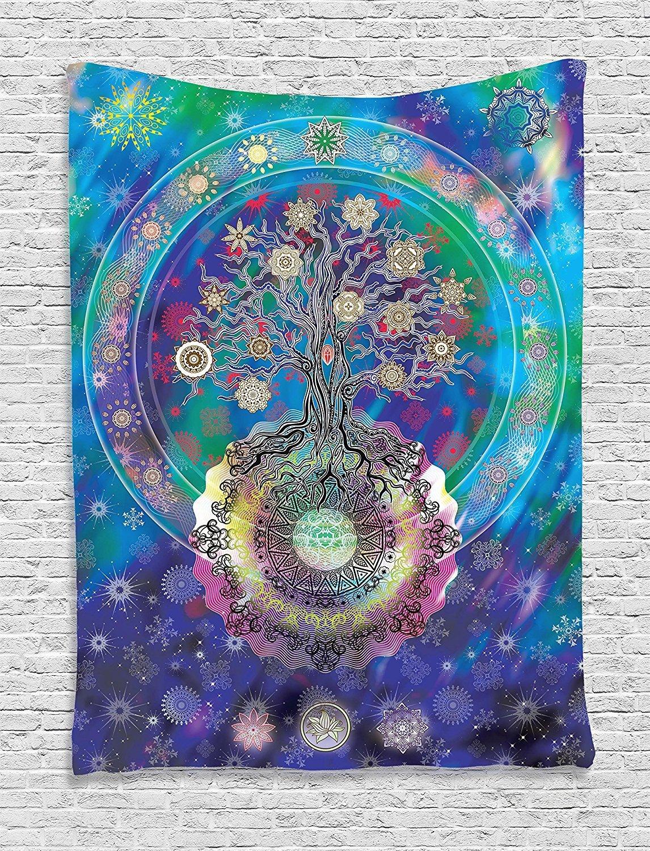 Modern Large Hamsa Hand Wall Hanging Mandala Tapestry Boho
