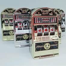 Rctown crianças mini casino slot máquina de frutas aliviar stress ansiedade tédio descompressão sorte jackpot brinquedo cor aleatória