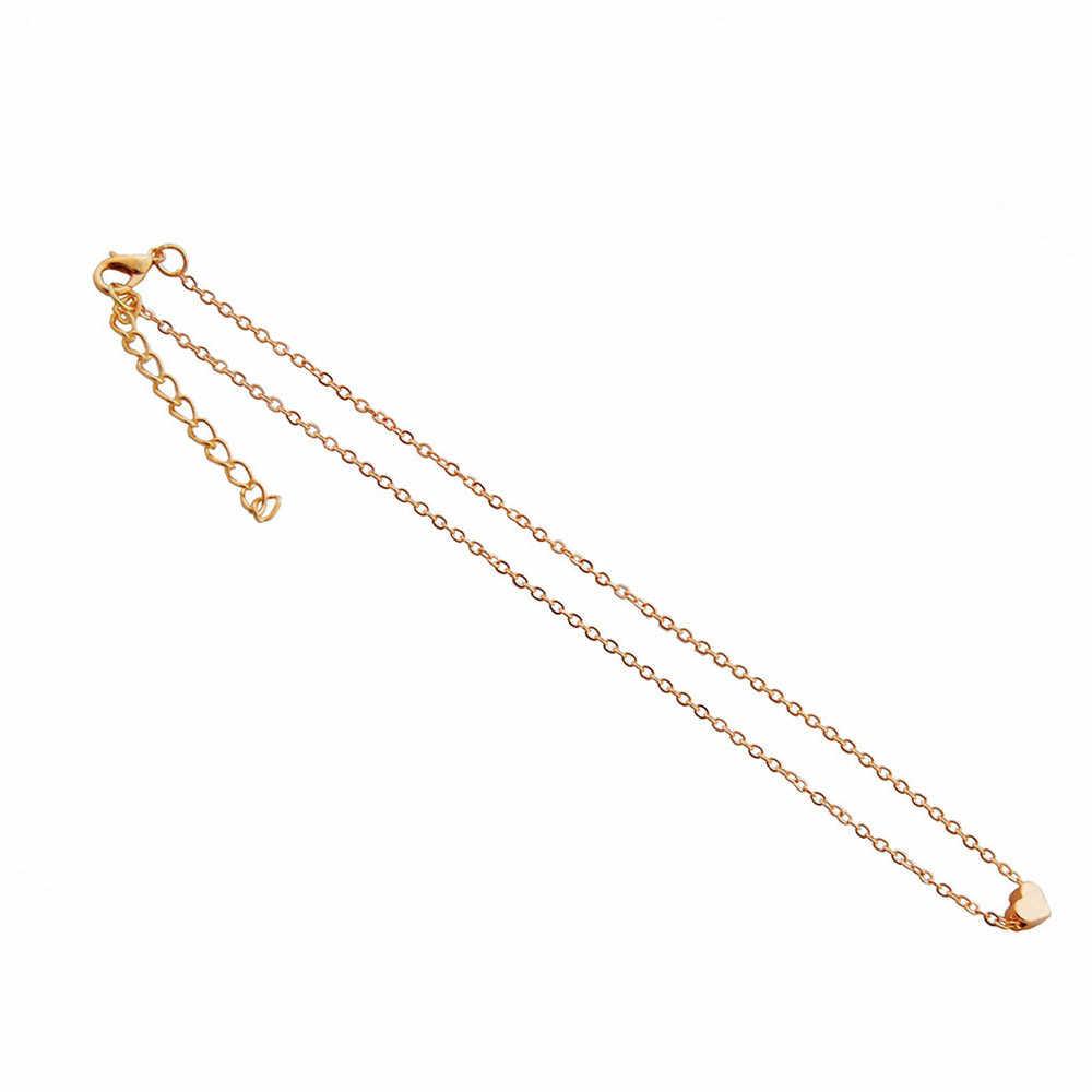 2019 ホットクリスタルハートのネックレス Romanticgirl チョーカー襟リボンゴールドファッション古典的なラインストーンレディースシルバー