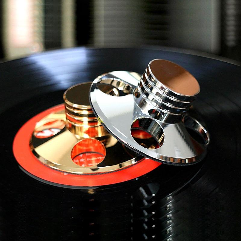 Unterhaltungselektronik Tragbares Audio & Video Lp Vinyl Plattenspieler Metall Disc Stabilisator Rekord Gewicht/clamp Schallplatte Plattenspieler Vibration Ausgewogene Gold Und Silber