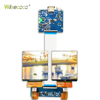 3.81 inch 1080*1200 AM OLED DISPLAY SCREEN MODULE for DIY 3D VR display IPS 90Hz MIPI to HDMI for VIVE CE VR virtual reality