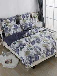 YAXINLAN bedding set Noctilucent Two colors Pure cotton Plant flowers Flower Patterns