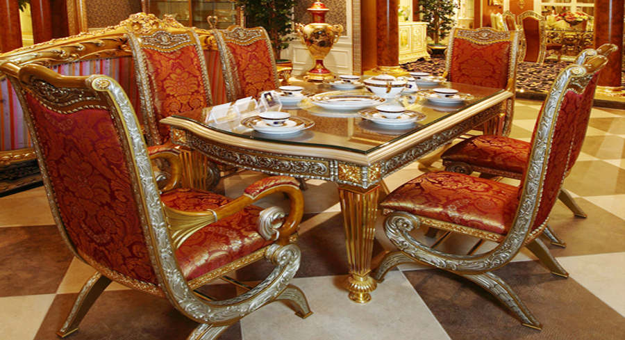Excellent Quality European Style Woodcarving Rectangular Dining Table In Tables From Furniture On Aliexpress Alibaba Group