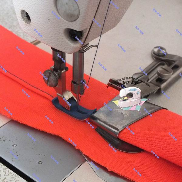 Industrial Sewing Machine Accessories Electric Flat Car Pulling Barrel Crimper Roll Leading Cloth Rolling Device