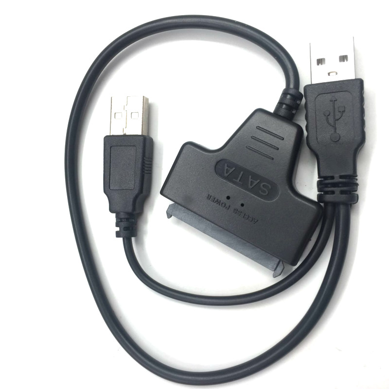 2.0 USB To SATA Cable Computer Hard Driver Connection Cables 2.5